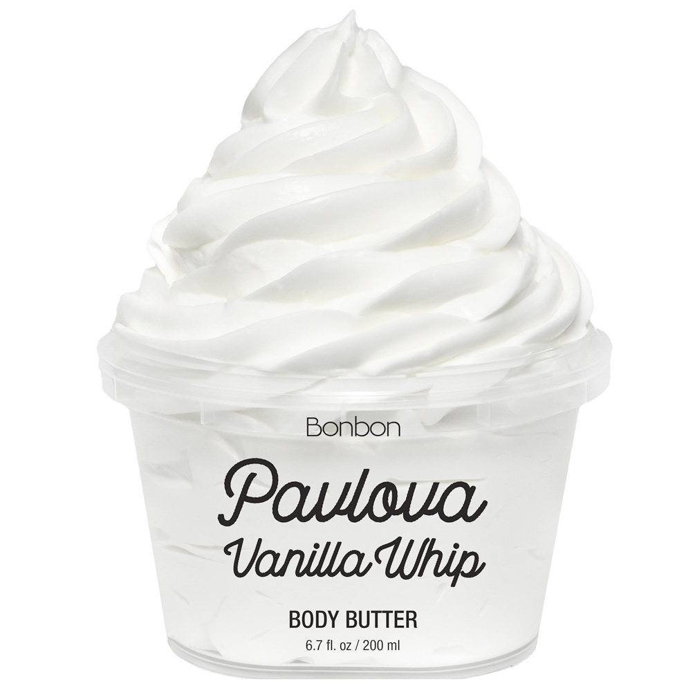 pavlova vanilla whip body butter