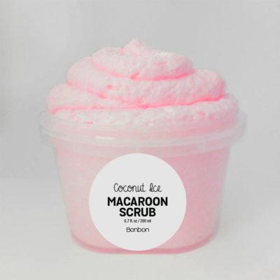 coconut ice macaroon scrub wash wash bonbon vegan Auckland
