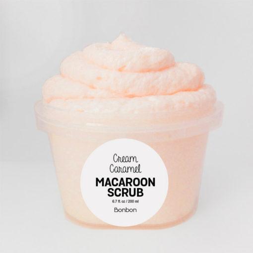 creme caramel macaroon scrub face wash bonbon vegan auckland