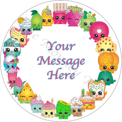 shopkins edible cake image topper birthday party