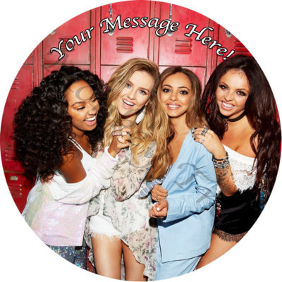 little mix edible cake image topper birthday party disco