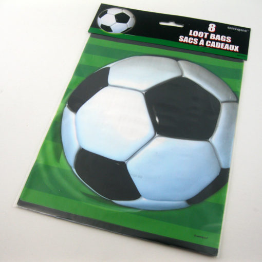 football soccer loot bag party plastic