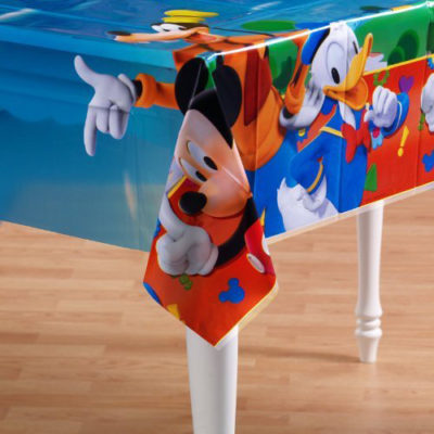 mickey table cover mouse clubhouse birthday party
