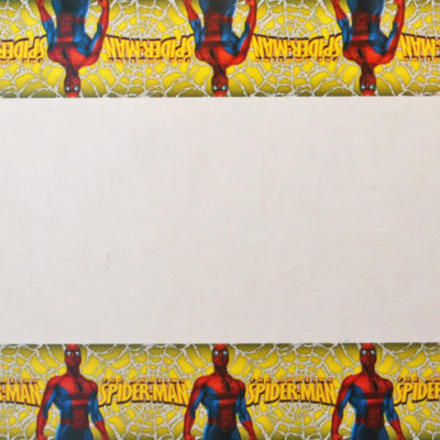 spiderman table cover birthday party superhero