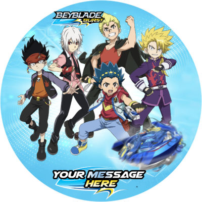 beyblade burst edible cake image topper party birthday cake Auckland