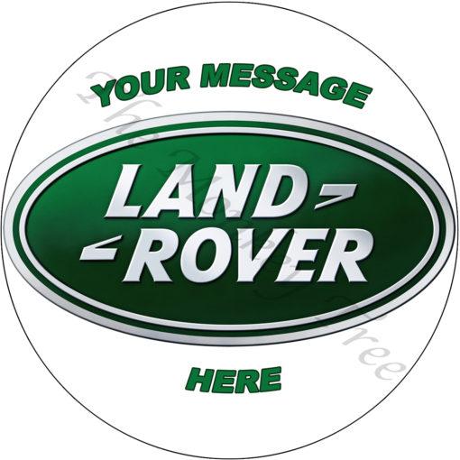 landrover birthday cake edible cake image topper rover rangerover