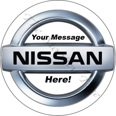 Nissan birthday cake edible cake image topper Nissan