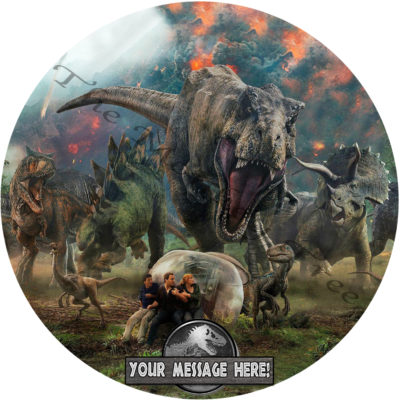 dinosaur edible cake image fondant jurassic t rex birthday cake