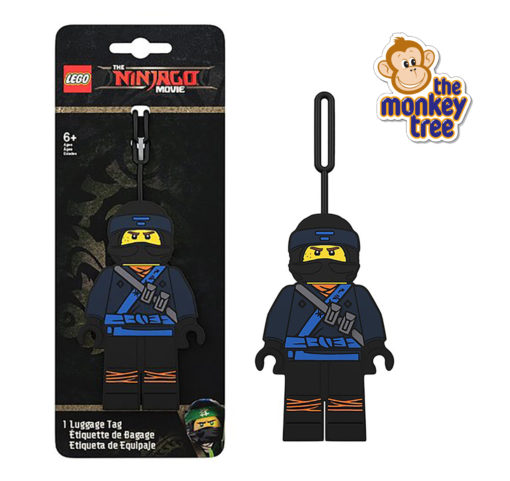 JAY LLOYD ninjago luggage tag KAI lego daycare kindy school Auckland