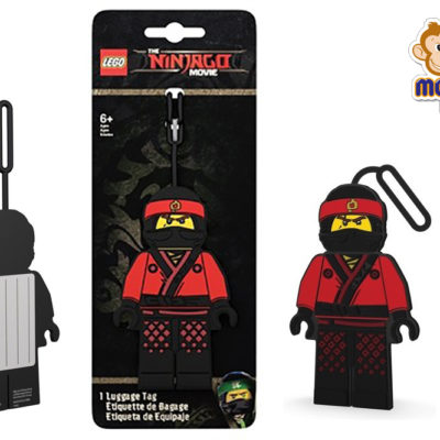 ninjago luggage tag KAI lego daycare kindy school Auckland