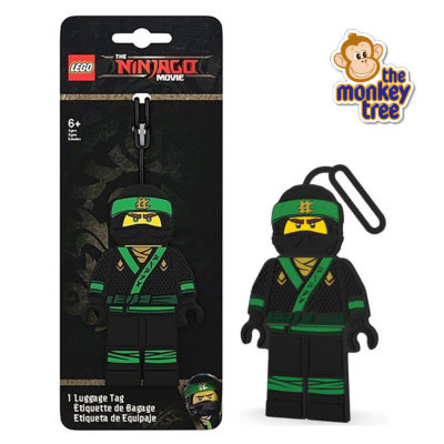 LLOYD ninjago luggage tag KAI lego daycare kindy school Auckland