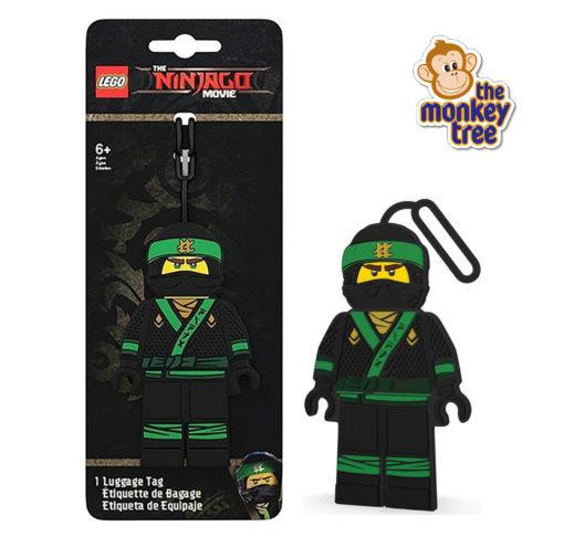 LLOYD ninjago luggage tag KAI lego daycare kindy school Auckland