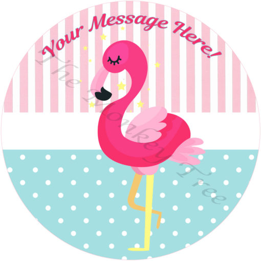flamingo cake cupcake party bird zoo