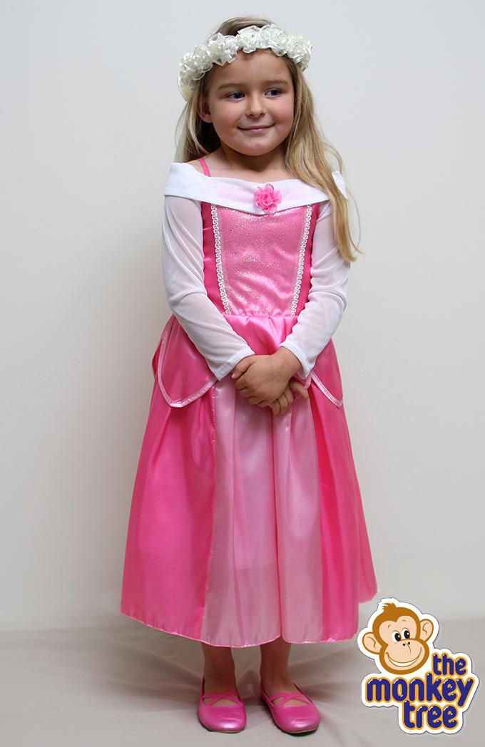 c50736ae09d Princess Aurora Sleeping Beauty Multi Layered Dress - age 5-6 years