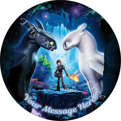 how to train your dragon new movie edible cake birthday party cupcake