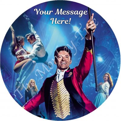 the greatest showman edible icing image cake topper birthday cupcake