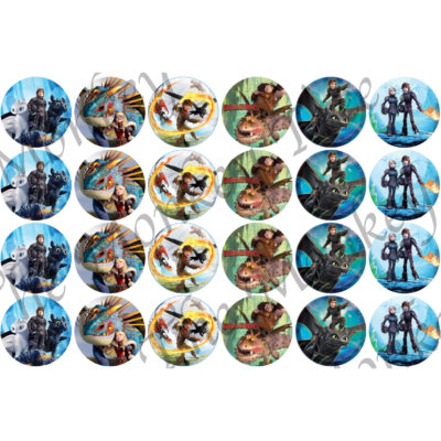 how to train your dragon new movie edible cake birthday party cupcake HTTYD