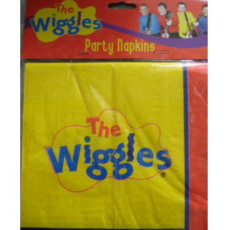 wiggles dorothy dinosaur plates and napkins