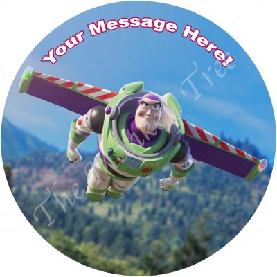 buzz lightyear toy story edible cake image fondant topper birthday cake cupcake