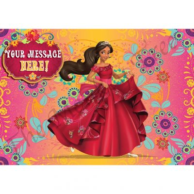 Elena of Avalor Edible Image cake topper fondant birthday princess