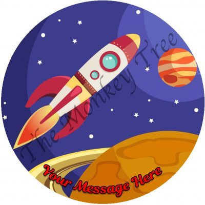 space rocket edible fondant cake image space rocket cupcake cake edible fondant topper birthday spacex nasa