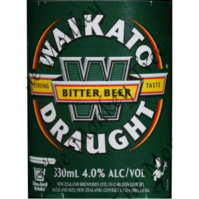Waikato draught beer bottle edible label image fondant