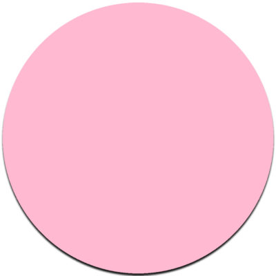 pink round cake board masonite