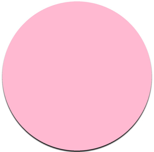 pink round cake board masonite