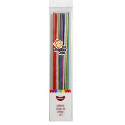 rainbow sparkle candles firework