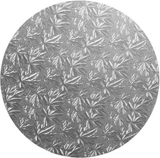 silver masonite cake board birthday