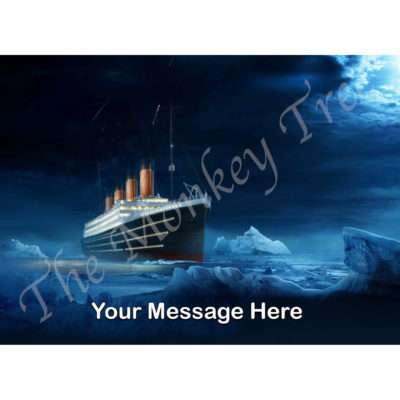 titanic edible cake image topper birthday