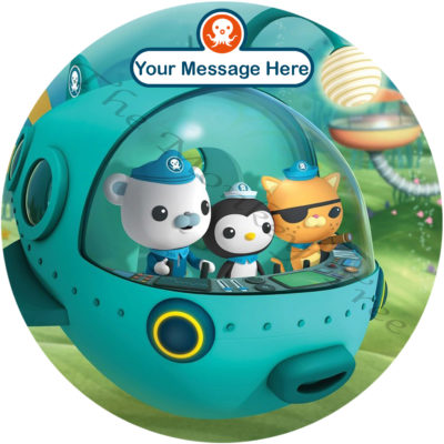 Octonauts edible cake image topper birthday
