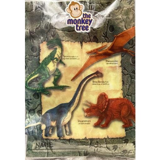 dinosaur party loot bags birthday gift t rex triceratops stegosaurus