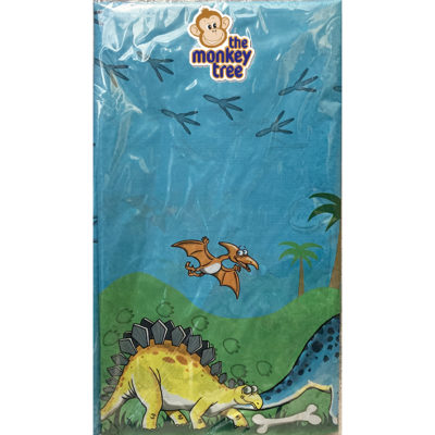 dinosaur table cover birthday party t rex triceratops