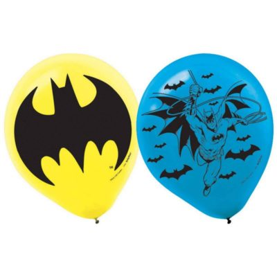 batman balloons birthday party superhero