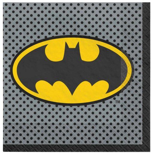 batman napkins birthday party plates table